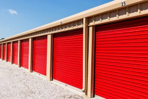 Numbered self storage units in Wyong
